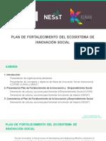 Plan de Fortalecimiento del Ecosistema de Innovación Social 2019