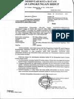 Ceklist Pelaksanaan Program Manajemen Risiko Fasilitas