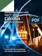 Mathematics HL - OPTION 9 Calculus - Fannon, Kadelburg, Woolley and Ward - Cambridge 2012.pdf