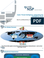 Integrating Cyber Threat Intelligence Using Classic Intel Techniques Elias Fox and Michael Norkus