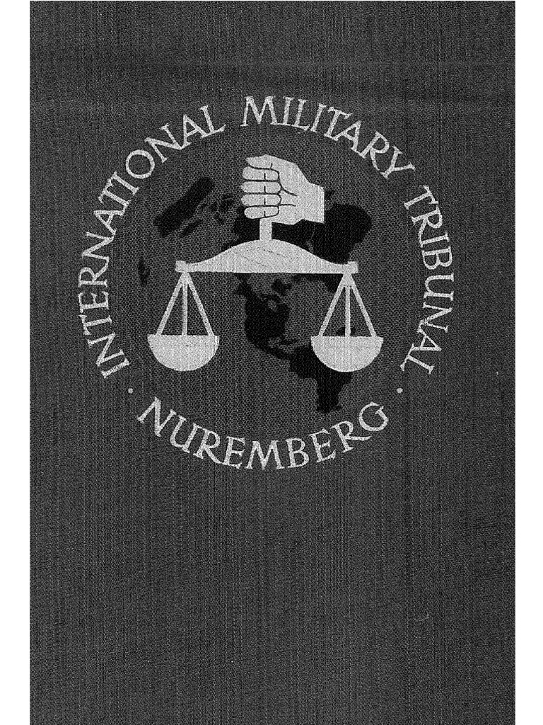 Trial of the Major War Criminals before the International Military ...