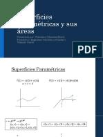 Superficies Paramétricas y Sus Áreas