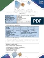 Guia de actividades y rubrica de evaluación - Etapa 2 – Análisis de Algoritmos (1).docx