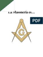 La Masoneria Es