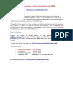 Dental Research an International Journal (DRIJ)
