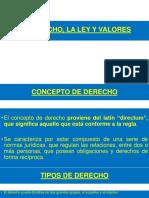 DERCHO, LEY Y VALORES.pptx