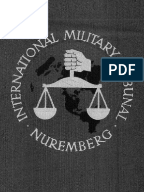 Trial Of The Major War Criminals Before The International