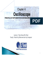 Chapter 4 - Oscilloscope