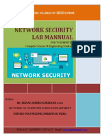 Network Security  LAB Manual For Diploma