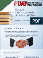 Tratado internacional con Chile.