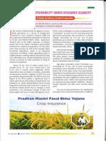 Kurukshetra Agricultural Sustainability Under Resource Scarcity 06-04-2019