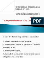 Notes on classification of fires