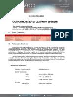 Concordis2019 Event Proposal