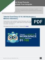 100 Tutorial Corel Draw Pemula Hingga Mahir Free Tempate Terbaik