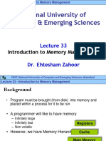 Lecture 33-Memory Management - Introduction