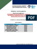 PRÁCTICA NO.1 - DETERMINACIÓN DE MATERIALES Y RESIDUOS PELIGROSOS DEL INSTITUTO TECNOLÓGICO DE ACAPULCO.docx