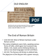 Old English Intro