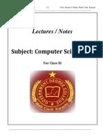 Notes -Computer Science I (XI).pdf.docx