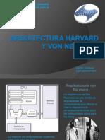 arquitectura harvard y von neumann