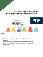 Mr. Sabar Md Hashim - Malaysia Presentation