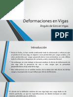 Deformaciones en Vigas