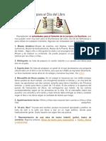 50 actividades para el Día del Libro CRA.docx