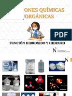 CLASE 5_FUNCIÓN HIDROXIDOS HIDRURO.ppt