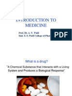 Introduction to Medicine