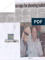 Philippine Star, May 14, 2019, Floirendo faces raps for showing ballot.pdf