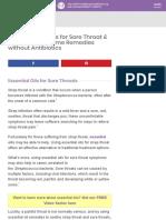 Best Essential Oils for Strep Throat & Sore Throat .pdf