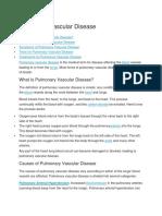 Pulmonary Vascular Disease.docx