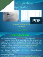 Tensión Superficial Capilaridad.pptx