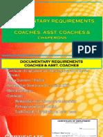 Coaches Docs