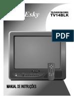 Tv-14blk- Manual de Instrução