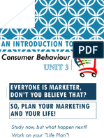 Unit 3. Customer Behaviour