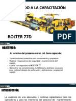 Capacitacion Bolter 77