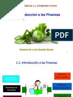 1 Introducción Financiera