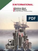 Stainless Steel Pressure Filters_brochure