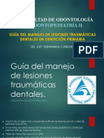 Lesiones Traumáticas Dentición Primaria (1)
