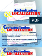 Contextualization and Localization