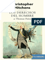 Los Derechos Del Hombre de Thomas Paine - Christopher Hitchens