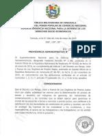 Providencia Administrativa N° 254-2019