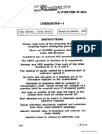 IGS Chemistry Paper 1 2014