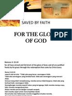 Saved by Faith