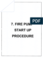Fire Pump Startup Procedure