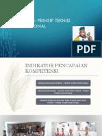 Prinsip – Prinsip Teknisi Profesional