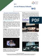 european values newsletter no 3