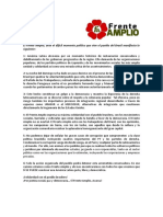 Declaración en Contra Del Golpe de Estado Parlamentario en Brasil, Por La Federación Mundial de La Juventud Democrática 27-04-2016