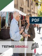 Programa de Junts per Sabadell