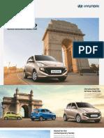SANTRO Hatchback Brochure